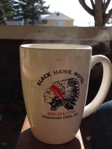 Nothing to do with the post, but today  it was warm enough to drink my coffee outside on my porch! Small victories here in Wisconsin!